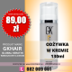 GK Hair cena 89zł leave-in cream 130ml Global Keratin Juvexin, shop warsaw Poland